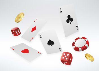spadające karty