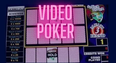 video póker banner
