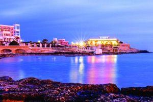 Widok kasyna na Malcie