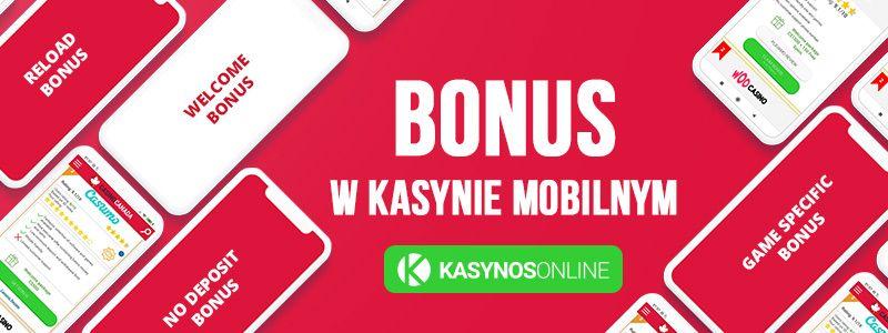 bonus w kasynie mobilnym i telefony komórkowe