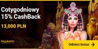 Zet casino - cashback bonus