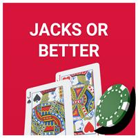 Jacks or better videopoker