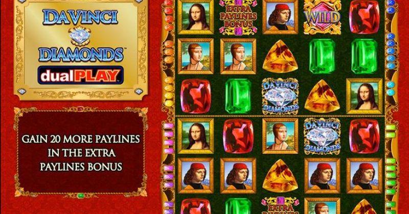 Zagraj w DaVinci Diamonds Dual Play automat online od IGT za darmo już teraz | Kasynos Online