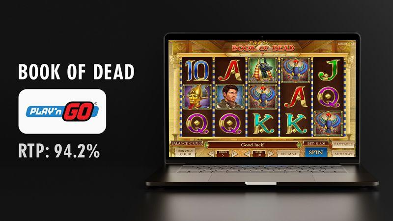Book of dead slot - play n go