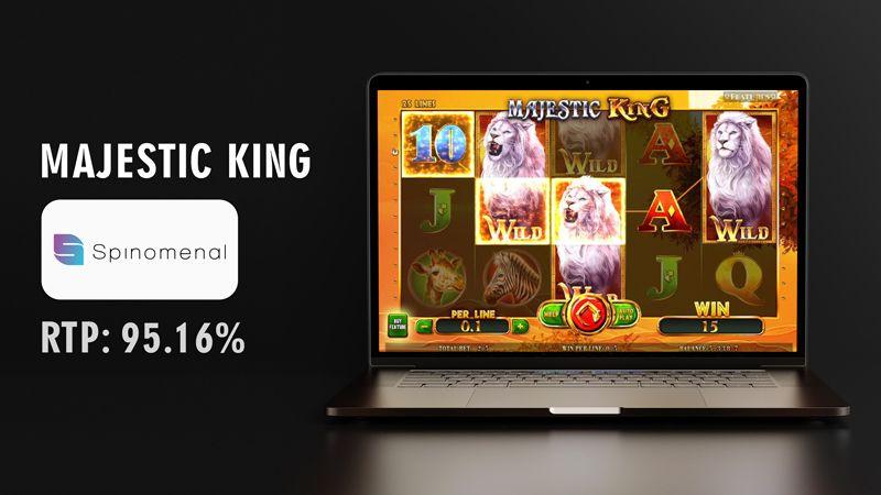 Majestic king slot spinmenal
