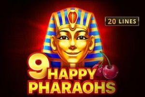 9 Happy Pharaohs automat online od Playson