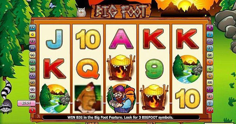 Zagraj w Big Foot automat online od NextGen za darmo już teraz   Kasynos Online