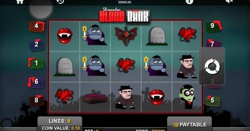 Zagraj w Blood Bank automat online od 1x2 Gaming za darmo już teraz | Kasynos Online