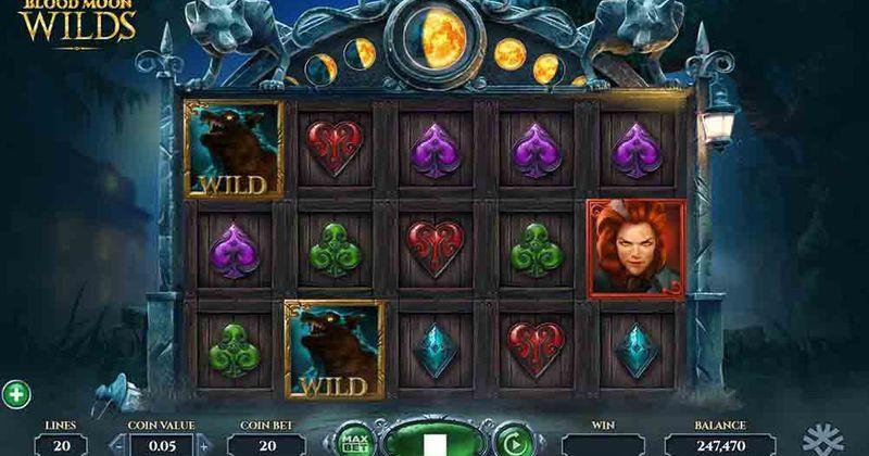 Zagraj w Bloodmoon Wilds automat online od Yggdrasil za darmo już teraz | Kasynos Online