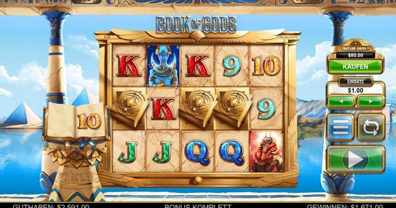 Zagraj w Book of Gods automat online od Big Time Gaming za darmo już teraz   Kasynos Online