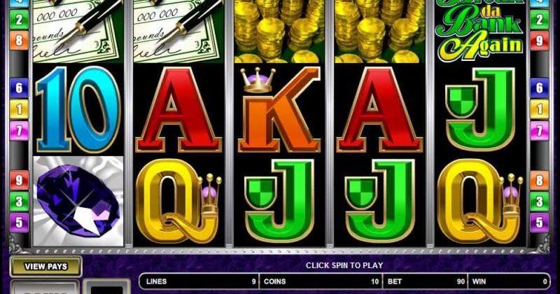 Zagraj w Break Da Bank Again automat online od Microgaming za darmo już teraz   Kasynos Online