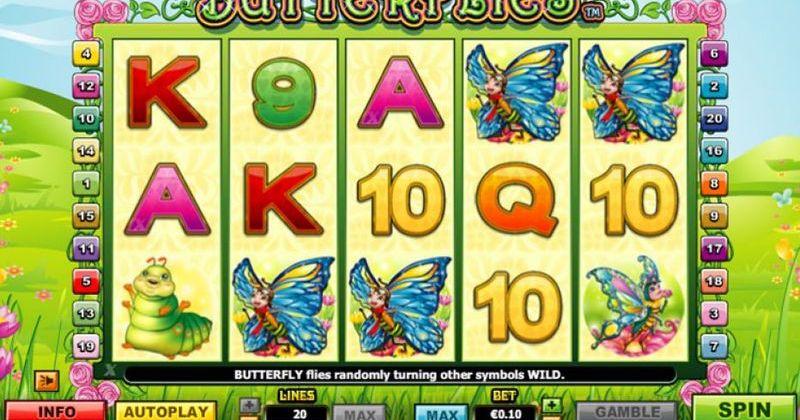 Zagraj w Butterflies automat online od NextGen za darmo już teraz   Kasynos Online