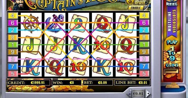 Zagraj w Captain Treasure automat online Playtech za darmo już teraz | Kasynos Online