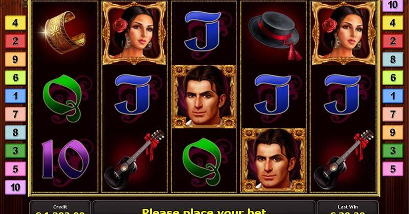 Zagraj w Flamenco Roses automat online od Novomatic za darmo już teraz | Kasynos Online