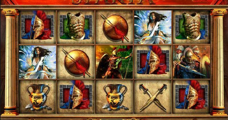 Zagraj w Fortunes of Sparta automat online od Blueprint za darmo już teraz | Kasynos Online