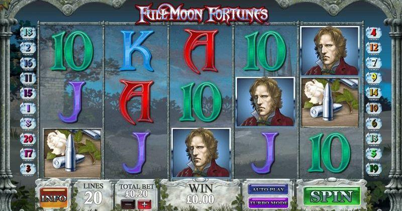 Zagraj w Full Moon Fortunes automat online od Playtech za darmo już teraz | Kasynos Online