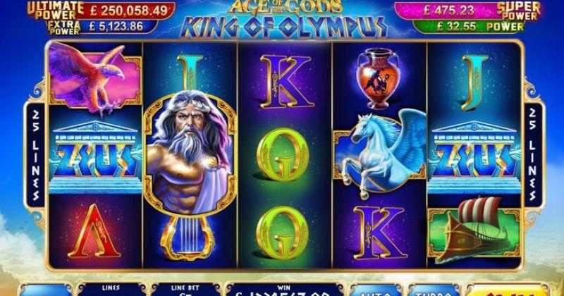 Zagraj w King of Olympus automat online Playtech za darmo już teraz | Kasynos Online