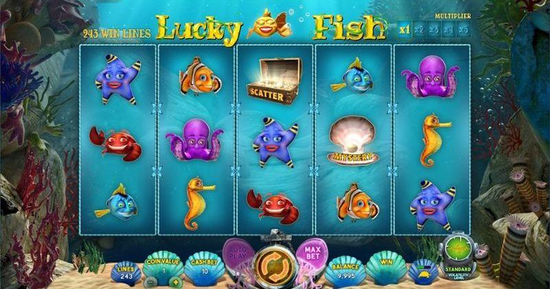 Zagraj w Lucky Fish automat online od Wazdan za darmo już teraz | Kasynos Online