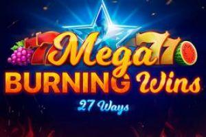 Mega Burning Wins 27 ways od Playson