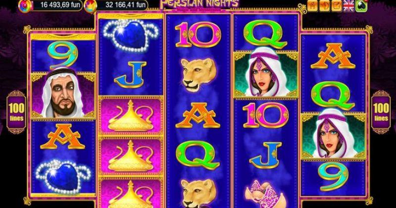 Zagraj w Persian Nights automat online od Belatra za darmo już teraz | Kasynos Online
