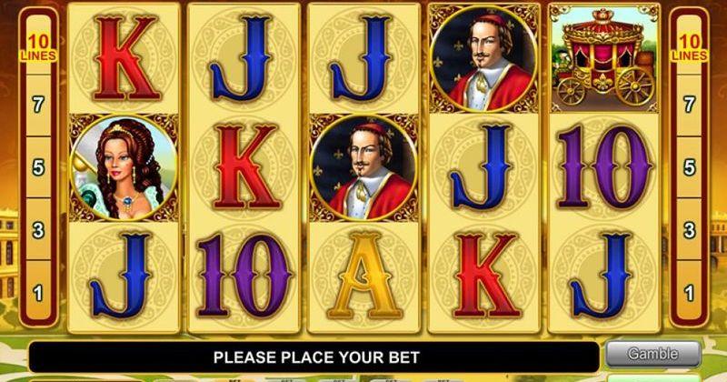 Zagraj w Versailles Gold automat online EGT Interactive za darmo już teraz | Kasynos Online
