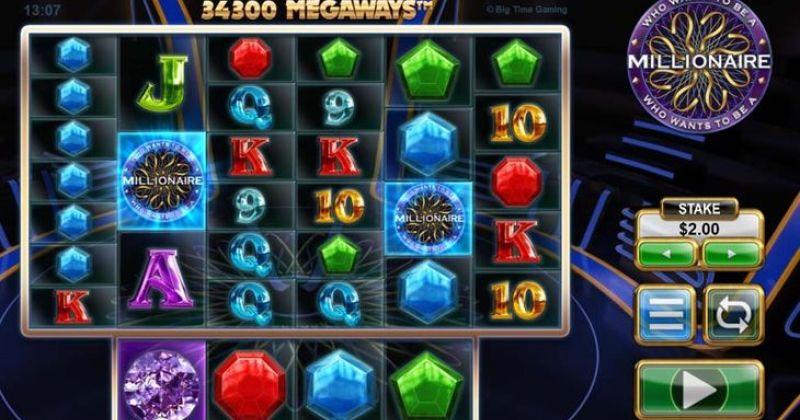 Zagraj w Who wants to be a Millionaire Megaways automat online od Big Time Gaming za darmo już teraz | Kasynos Online