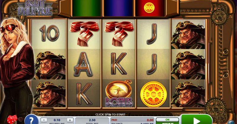 Zagraj w Agent Valkyrie automat online od 2by2 Gaming za darmo już teraz | Kasynos Online