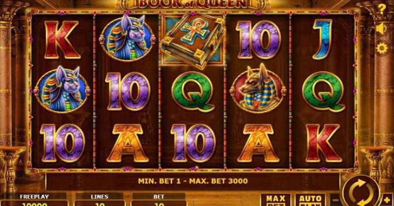 Zagraj w Book of Queen automat online od Amatic za darmo już teraz   Kasynos Online