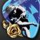 Róże na niebiesko