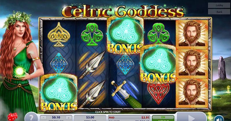 Zagraj w Celtic Goddess slot online od 2by2 Gaming za darmo już teraz | Kasynos Online