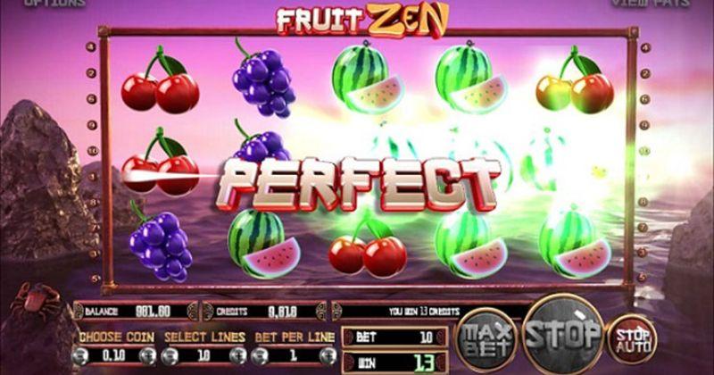 Zagraj w Fruit Zen automat online od BetSoft za darmo już teraz | Kasynos Online