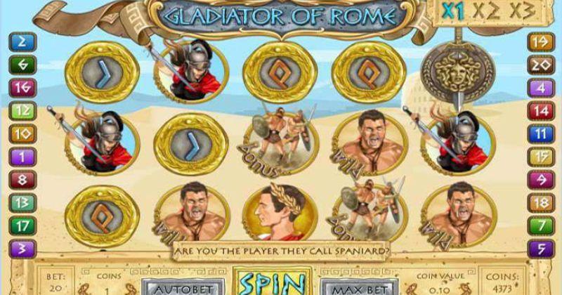 Zagraj w Gladiator of Rome slot online od 1x2 Gaming za darmo już teraz | Kasynos Online
