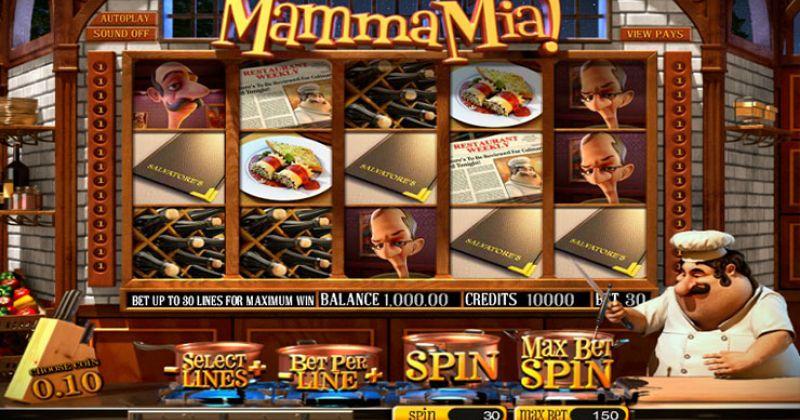 Zagraj w Mamma Mia slot online od 2by2 Gaming za darmo już teraz | Kasynos Online