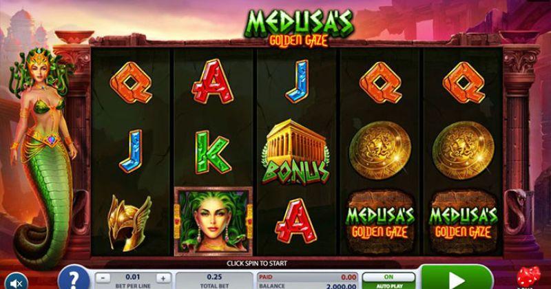 Zagraj w Medusa's Golden Gaze automat online od 2by2 Gaming za darmo już teraz   Kasynos Online
