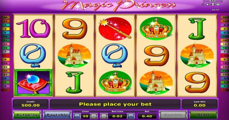 Zagraj w Magic Princess automat online od Greentube za darmo już teraz   Kasynos Online