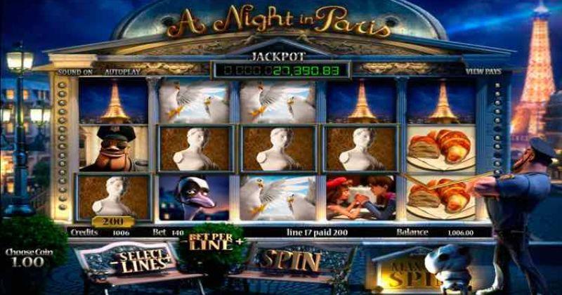 Zagraj w A Night in Paris automat online od Betsoft za darmo już teraz | Kasynos Online