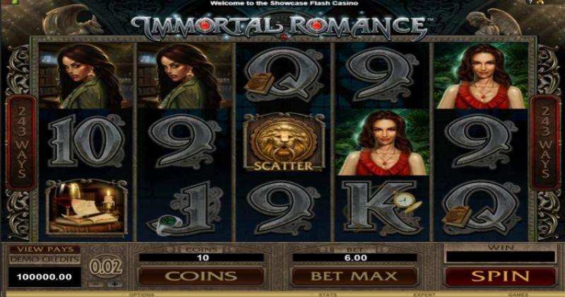Zagraj w Immortal Romance automat online od Microgaming za darmo już teraz | Kasynos Online