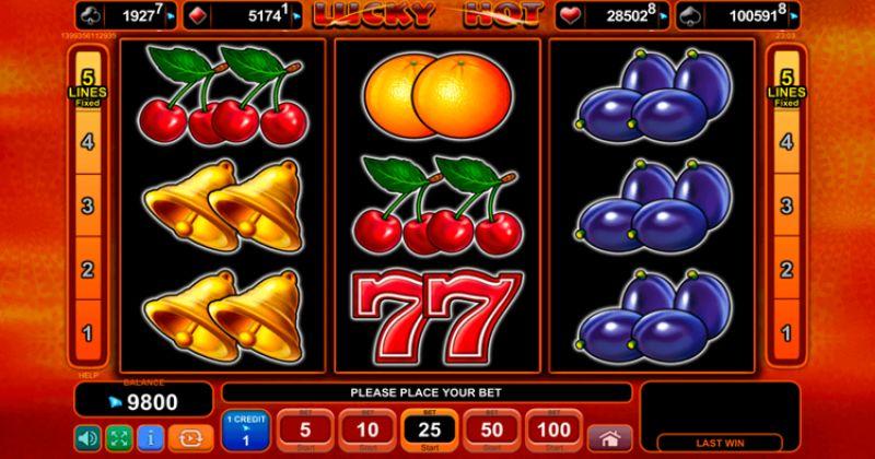 Zagraj w Lucky Hot automat online od EGT Interactive za darmo już teraz | Kasynos Online