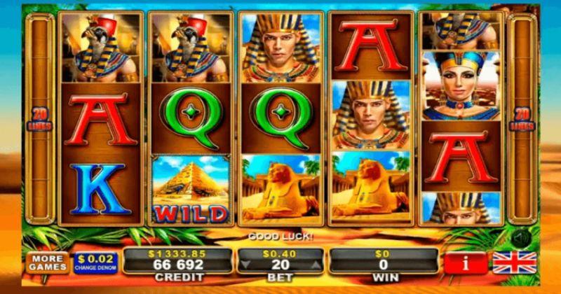 Zagraj w Ramses II automat online od GreenTube za darmo już teraz   Kasynos Online