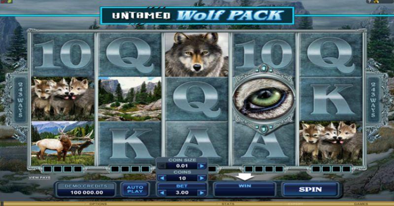 Zagraj w Untamed Wolf Pack – automat online od Microgaming za darmo już teraz | Kasynos Online