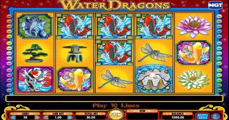 Zagraj w Water Dragons automat online od IGT za darmo już teraz | Kasynos Online