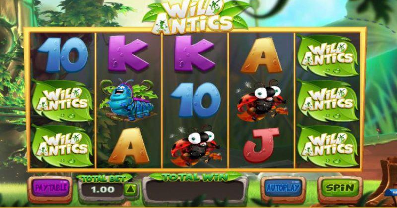 Zagraj w Wild Antics automat online od Blueprint Gaming  za darmo już teraz | Kasynos Online