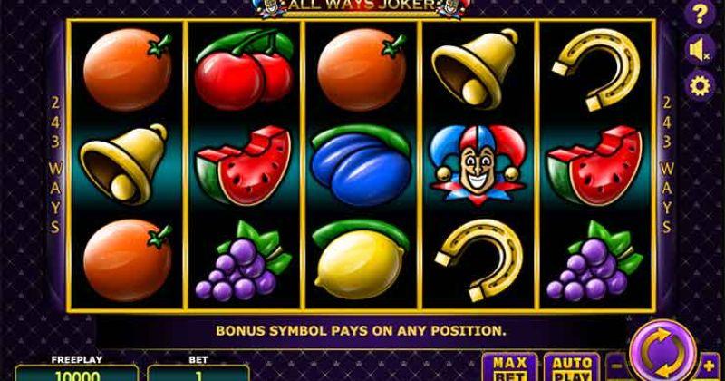 Zagraj w All Ways Joker automat online od Amatic za darmo już teraz | Kasynos Online