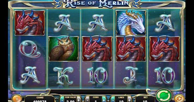 Zagraj w Rise of Merlin slot online od Play'n Go za darmo już teraz | Kasynos Online