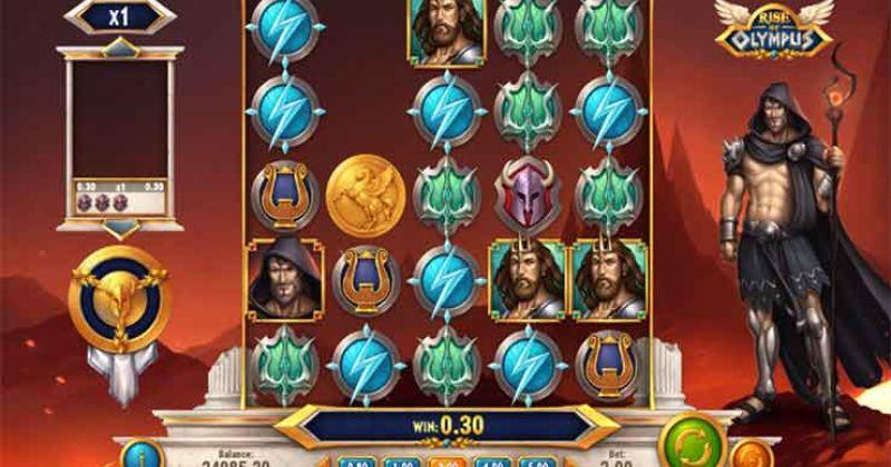 Zagraj w Rise of Olympus slot online od Play'n Go za darmo już teraz | Kasynos Online