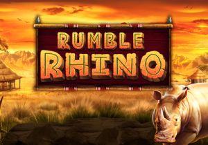 rumble rhino slot logo