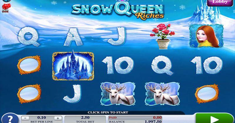 Zagraj w Snow Queen slot online od 2by2 Gaming za darmo już teraz | Kasynos Online