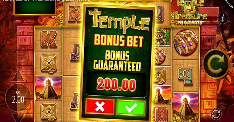Zagraj w Temple of Treasure Megaways slot od Blueprint za darmo już teraz   Kasynos Online