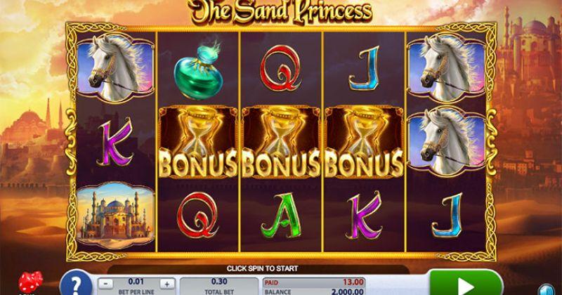 Zagraj w The Sand Princess slot online od 2by2 Gaming za darmo już teraz | Kasynos Online