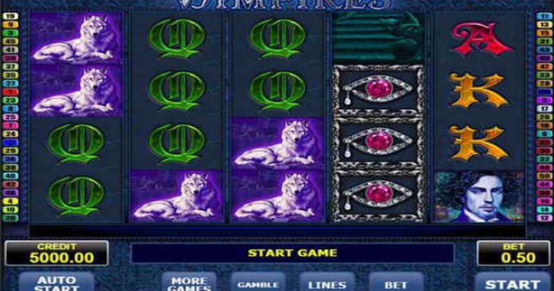 Zagraj w Vampires slot online od Amatic za darmo już teraz | Kasynos Online